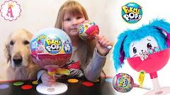 Сюрпризы чупа чупс Pikmi Pops Jumbo Surprise: ароматные мягкие игрушки для детей в конфетах на палочке