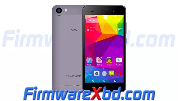 Symphony V75 Flash File Without Password (all version) Firmware Download