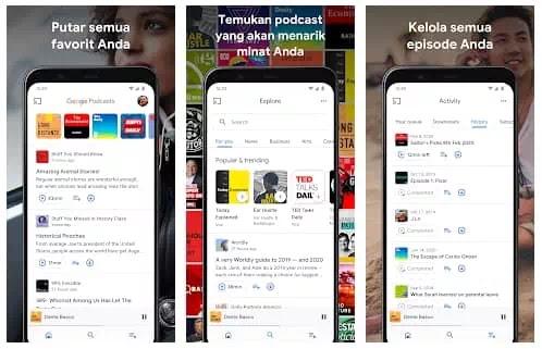 Aplikasi Podcast