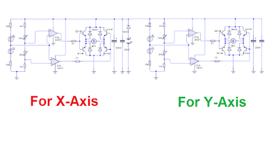 Dual Axis solar tracker without microcontroller