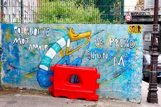 Sunday Street Art : Solor - rue Vitruve - Paris 20