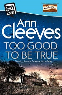 Portada de Too Good to Be True, de Ann Cleeves