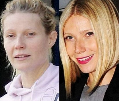 Gwyneth Paltrow Tanpa Make Up
