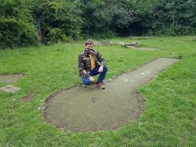 Crazy Golf course at Wythenshawe Park, Manchester
