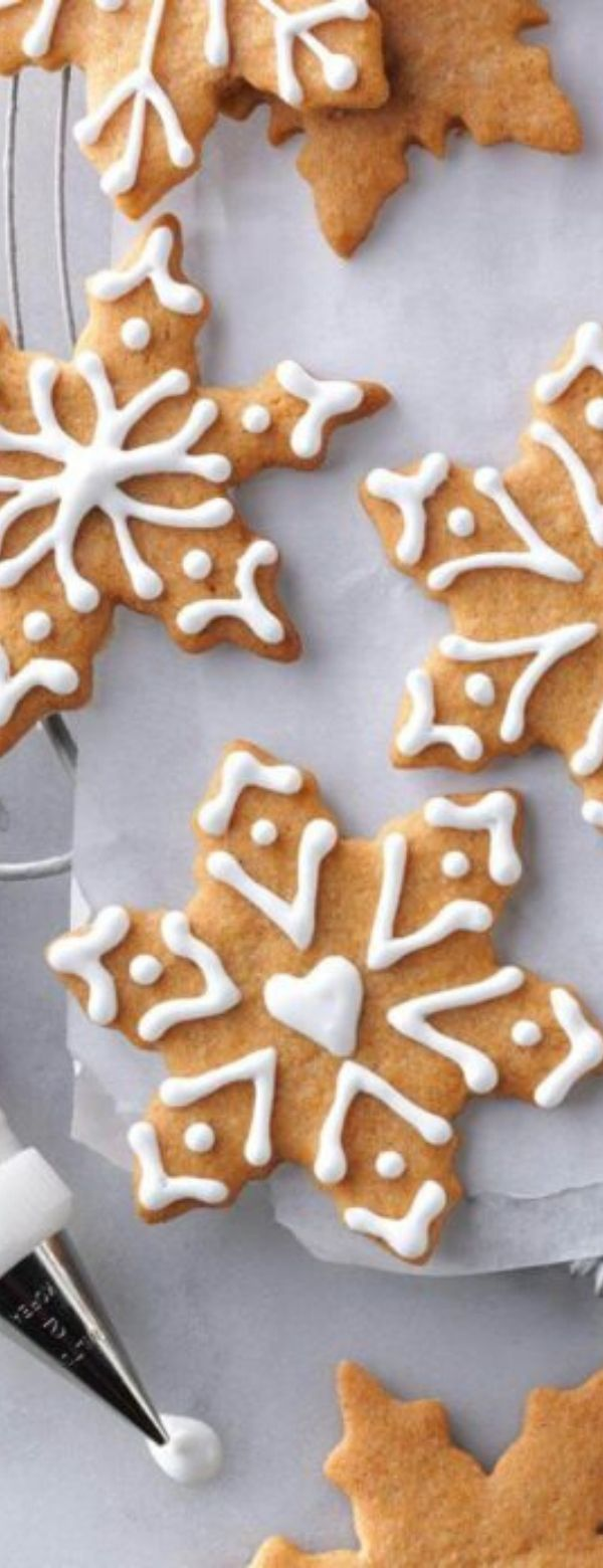 Butterscotch Gingerbread Cookies #cookies #appetizesrs #christmas