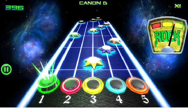Game Guitar Hero Android Rock vs Guitar Legends HD