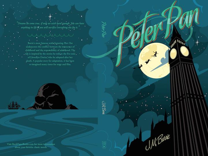 Peter Pan Capa livro