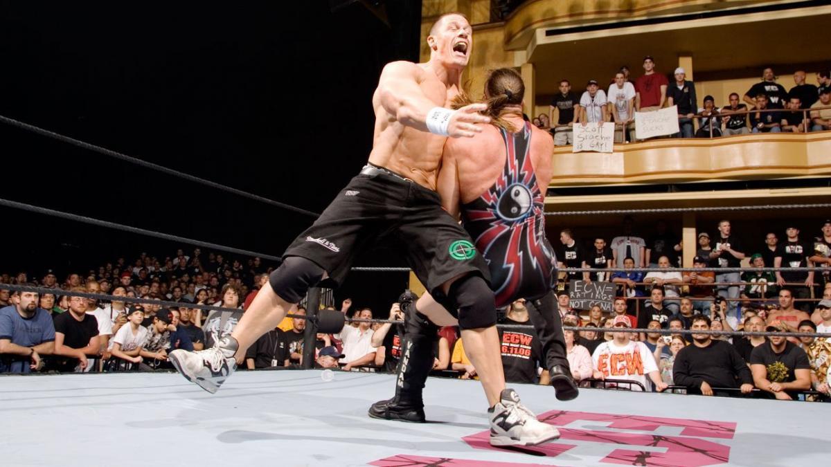 John Cena gostou muito de sua luta com Rob Van Dam no ECW One Night Stand