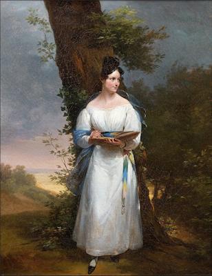 Jeune Femme au Carnet de Croquis, Antoinette Cécile Hortense Haudebourt-Lescot