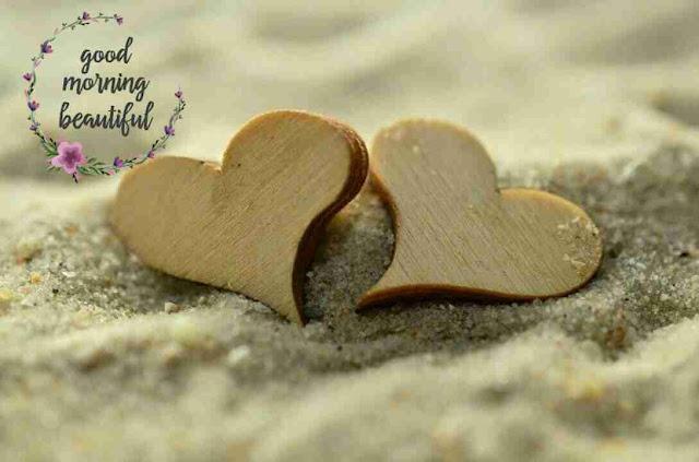 beautiful good morning pic hearts