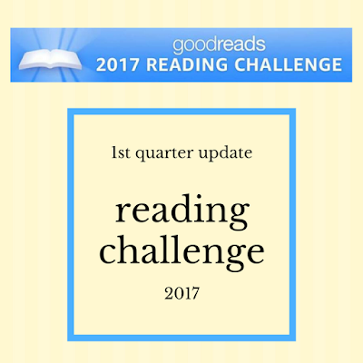 The 2017 Reading Challenge - March 31st update
