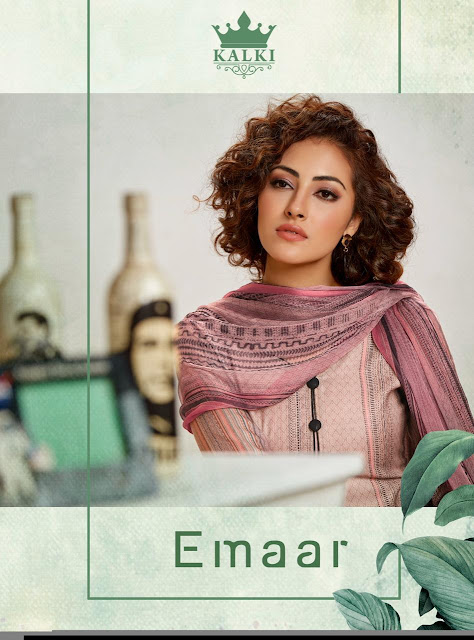 Kalki Emaar Winter Pashmina Suits Collection