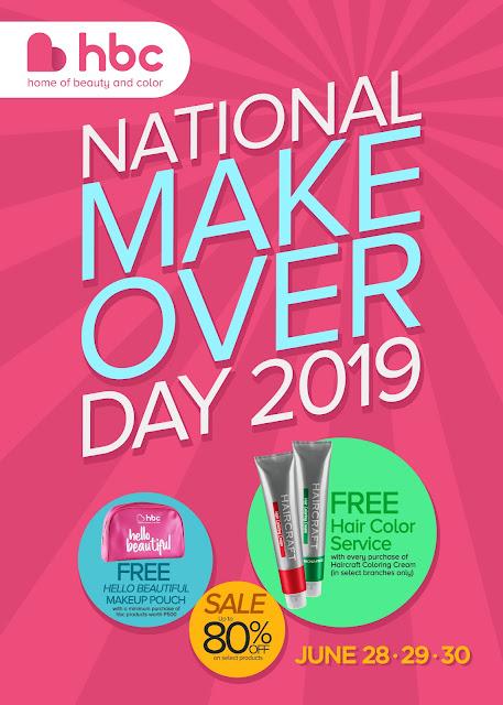 HBC National Makeover Day 2019
