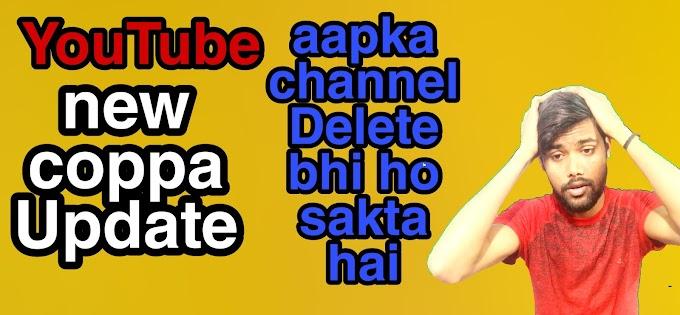 YouTube coppa Update