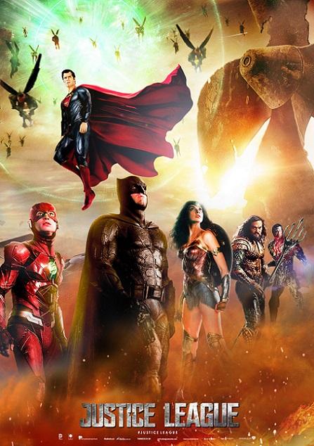 Justice League (Liga de la Justicia) (2017) 720p y 1080p WEBRip mkv Dual Audio AC3 5.1 ch