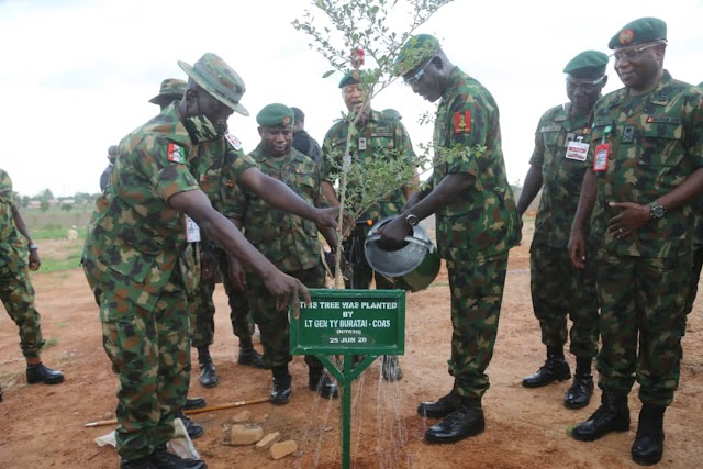 NIGERIAN ARMY WILL CONTINUE TO SUPPORT DICON TO ACHIEVE* *OPTIMAL PERFORMANCE,   *COAS COMMENDS DG DICON & STAFF FOR VISIBLE TRANSFORMATION