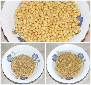 preparare boabe de soia bio, hidratare soia, retete cu soia, preparate din soia, retete culinare, naturist, nutritie, sanatate,