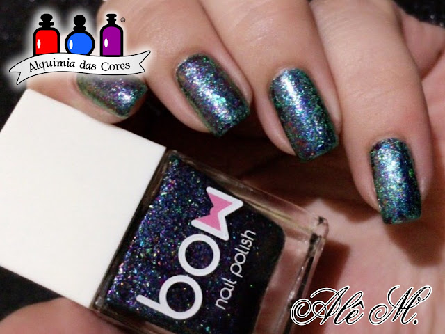 Bow Nail Polish, Rings of Saturn, Moyra