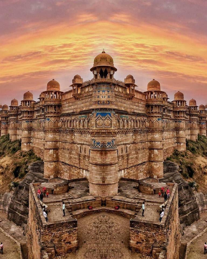 Gwalior fort, more beautiful than recognized 7 wonders of the wold
