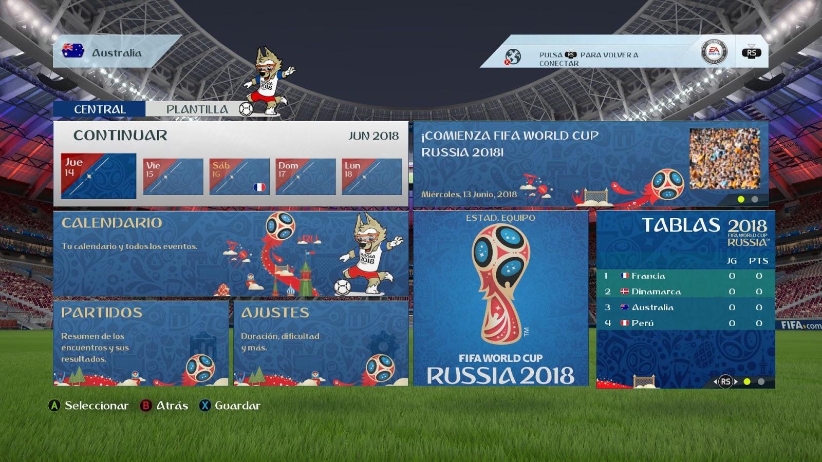 fd1e5a273 FIFA 16 ModdingWay Mod Update 28.0.4 World Cup 2018 Edition ...