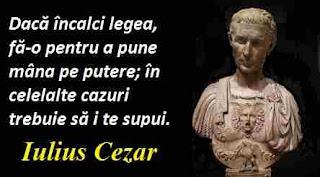 Maxima zilei: 13 iulie - Iulius Cezar