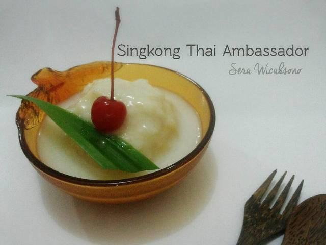 [resep] Singkong Thailand ala Ambassador Mall