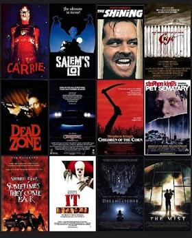 Stephen Kingin elokuvat listattuna paremmuusjärjestyksessä