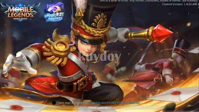 Script Background Harley Mobile Legends Terbaru