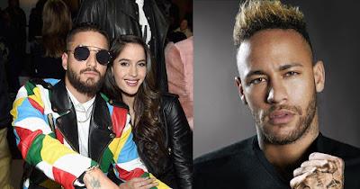 Que sucede entre Natalia Barulich, Neymar y Maluma? | Reggaeton ...