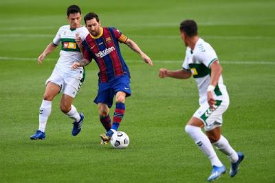 ملخص وهدف فوز برشلونة علي التشي (1-0) كاس خوان جامبر