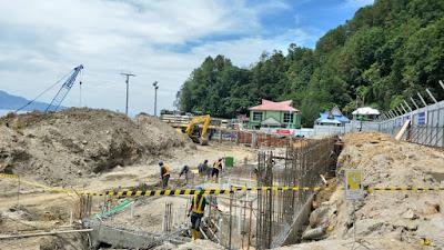 Proyek PT. WIKA di Parapat Senilai 77 M Lebih Dikerjakan Sangat Lamban, Padahal 2 Menteri Telah Berkunjung