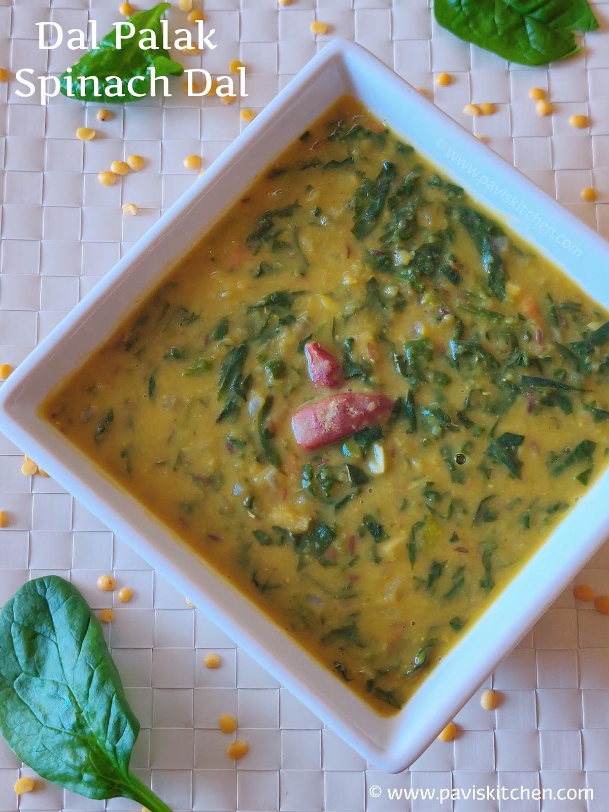 Toor Dal Palak Recipe | Spinach Dal Recipe