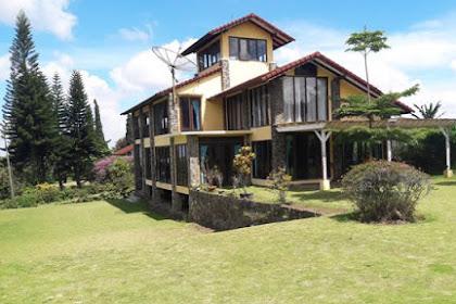 Villa Kencana Lembang - Villa Halaman Luas Yang Leluasa
