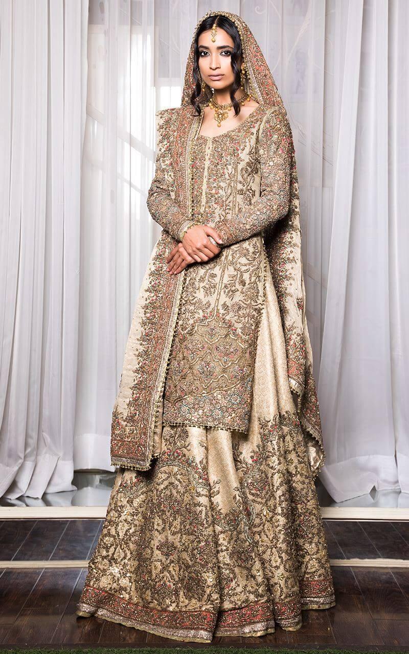 Fahad Hussayn Nikah Dress for Brides