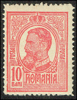 Prince Karl of Hohenzollern-Sigmaringen, monarch of Romania  10 Bani