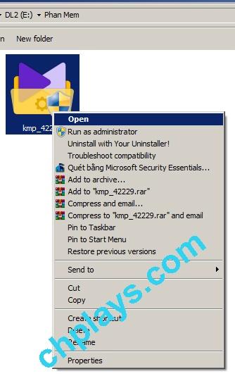 Hướng dẫn cài đặt KMPlayer trên máy tính a