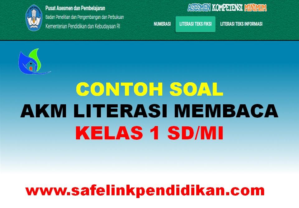 Soal AKM Literasi Teks Informasi