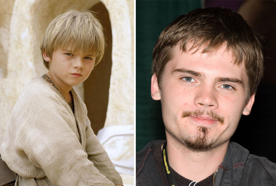 Jake Lloyd As Young Anakin Skywalker,1999 and 2015