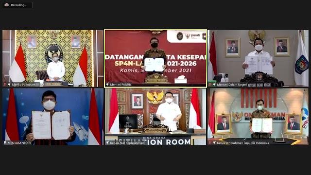 Lima Instansi Bersinergi Tingkatkan Layanan Pengaduan Masyarakat SP4N-LAPOR!