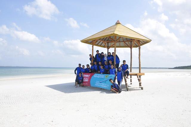 Gathering di Leebong island KPPBC Pratama Belitung