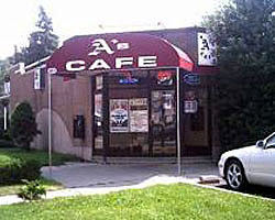 A's Cafe in Bergenfield, New Jersey