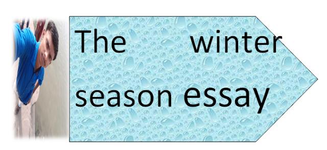 The winter season essay