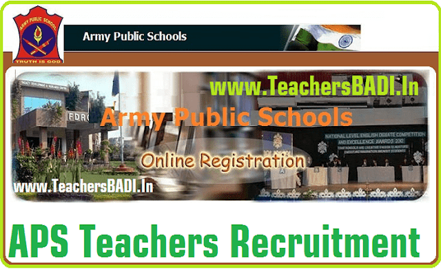 APS,Army Public Schools,Teachers Recruitment 2016