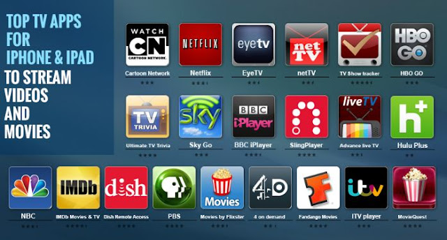 Top Best Movie and Show Apps For Handy Devices,Apple,Android and More