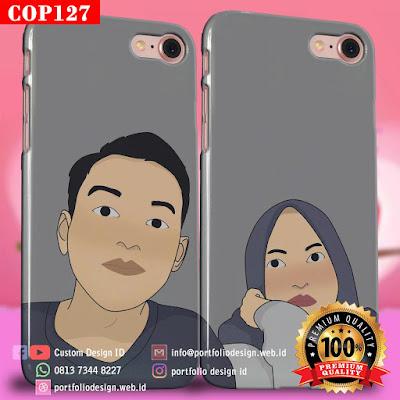 Model casing handphone couple pasangan muslim terbaru COP127