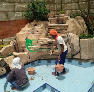 Jasa pembuatan kolam koi di kota bogor - jasa pembuatan kolam relief