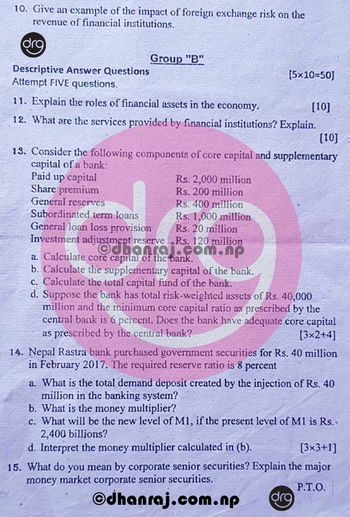 Financial-Institutions-and-Markets-FIN-252-Question-Paper-2076-BBS-4-Yrs-Prog-IV-Year