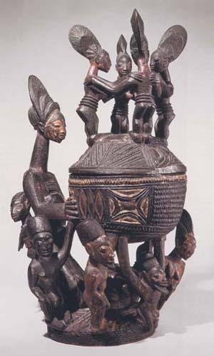 Yoruba African Sculptor Olówè of Isè
