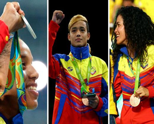 ¡Bravo! Venezuela sumó tres medallas y nueve diplomas en #Río2016