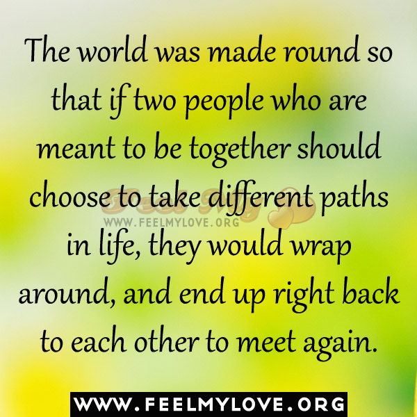 Finding Each Other Again Quotes. QuotesGram